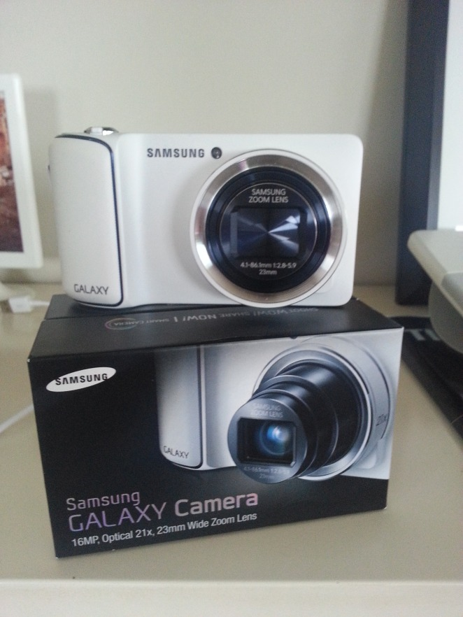Galaxy Camera - one out of the box